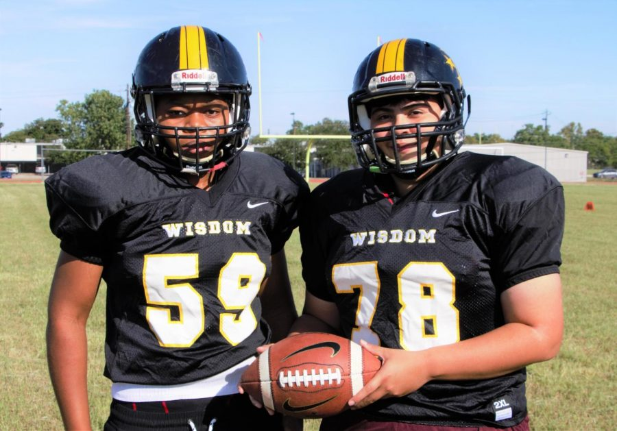 Pair of Female Football Players Breaking Down Barriers at Wisdom High School